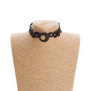 Eternity Choker aus recyceltem Reifenschlauch - SAPU