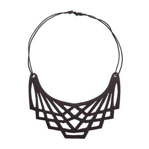 Origami handgefertigte vegane Halskette - SAPU