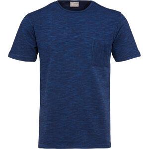 Diagonal T-Shirt turkish Sea Gots - KnowledgeCotton Apparel