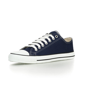 Fair Trainer Lo Cut Classic Ocean Blue | Just White - Ethletic