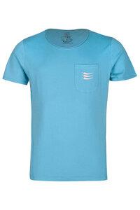 Herren T-Shirt Phil Rundhalz kurzarm Brusttasche Biobaumwolle - ROCKBODY