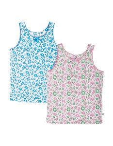 Unterhemd für Mädchen in Ökobaumwolle - Frugi