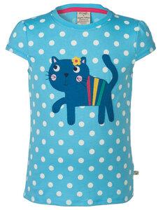 T-Shirt Katze - Frugi