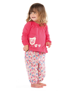 "Langarmshirt ""Chicks"" - Frugi"