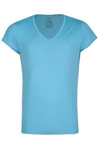 Herren T-Shirt / Tommy / V-Ausschnitt / Bio-Baumwolle - ROCKBODY