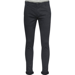 Pistol Joe-Chino Slim Stretch-Phantom - KnowledgeCotton Apparel