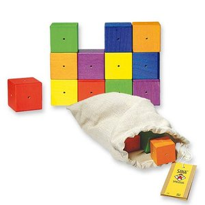 Klingende Holzbausteine - Sina Spielzeug