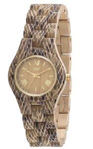 Holz-Armbanduhr CRISS PYTHON BEIGE | 100% hautverträglich - Wewood
