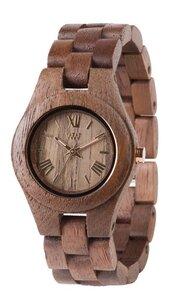 Holz-Armbanduhr CRISS NUT | 100% hautverträglich - Wewood