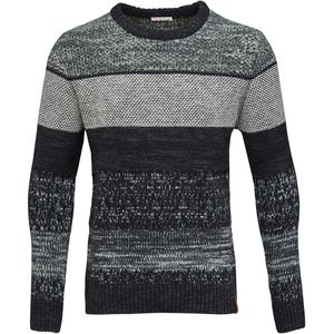 Multicolor Jacquard Knit - Total Eclipse - KnowledgeCotton Apparel