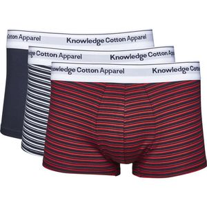 Underwear Striped Yarndyed 3pack - GOTS - KnowledgeCotton Apparel