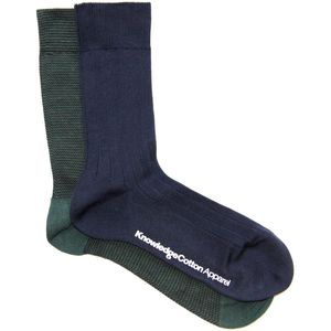 Narrow Striped Sock 2Pack - KnowledgeCotton Apparel