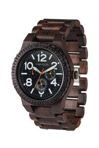 Holz-Armbanduhr KARDO CHOCO-WHITE   100% hautverträglich - Wewood