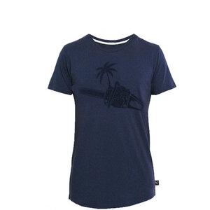Tropical Chainsaw T-Shirt - MarinBlau - The Driftwood Tales