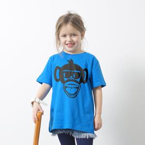 'Affe' Kinder T-Shirt Fair Wear Organic - shop handgedruckt