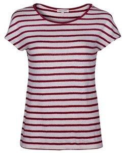 Linen Short Stripe poppy red - Alma & Lovis GmbH