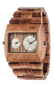 Holz-Armbanduhr JUPITER RS NUT | 100% hautverträglich - Wewood