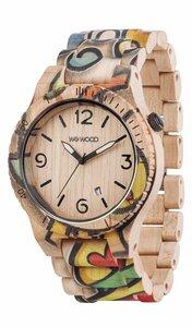 Holz-Armbanduhr ALPHA WOOP EYES | 100% hautverträglich - Wewood