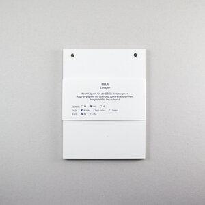 Einlagen für EBEN Mappe A6- Blanko - Kleinwaren / von Laufenberg