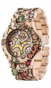 Holz-Armbanduhr DATE WOOP SWEETSTAR | 100% hautverträglich - Wewood