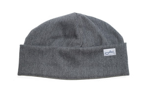 Sommer-Mütze grau - Beanie Made in Germany - Weich & sehr bequem  - Lou-i