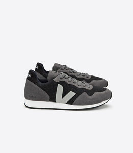 SDU FLANNEL DARK GRAFITE OXFORD GREY  - Veja