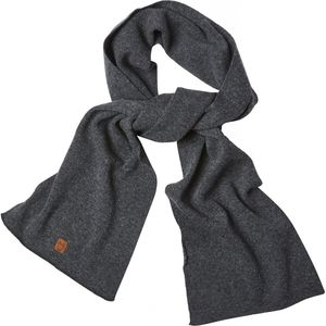 Scarf - Dark Grey Melange - KnowledgeCotton Apparel