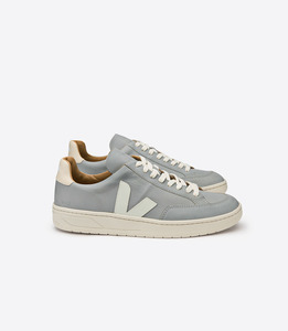 V-12 BASTILLE LEATHER OXFORD GREY - Veja