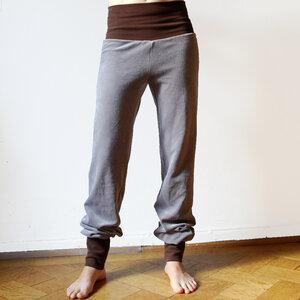 Nickihose für Damen grau/braun - Cmig