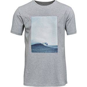 T-Shirt Slope Photo Print - KnowledgeCotton Apparel