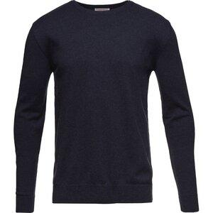 Basic O-Neck Cotton/Cashmere - GOTS - Total Eclipse - KnowledgeCotton Apparel