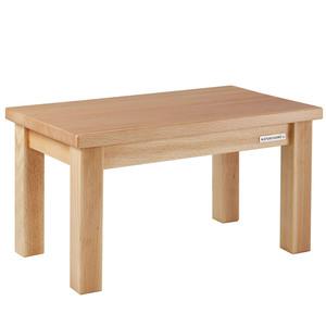 Kinder-Sitzbank Fußbank ECO aus Buchen-Holz Natur geölt 43 x 26 x 24 cm - NATUREHOME