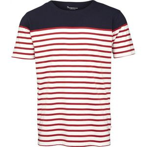 Yarndyed Striped T-Shirt - GOTS - KnowledgeCotton Apparel