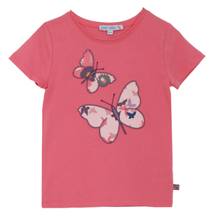 Bio Kinder T-Shirt mit Schmetterlings-Motiv - Enfant Terrible