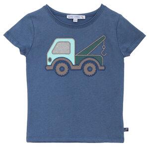Kurzarmshirt Abschleppwagen blau - Enfant Terrible