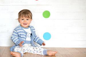 Babyhose aus Bio-Baumwolle Häschen - People Wear Organic