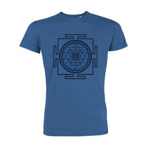 yoga108 Men-T-Shirt - Yantra - royal - yoga108