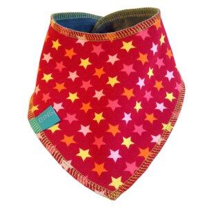 Nicki Wende-Halstuch, kleine Sterne, rot - bingabonga