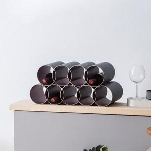 Weinregal 9er Set von rund:Stil - rund:Stil