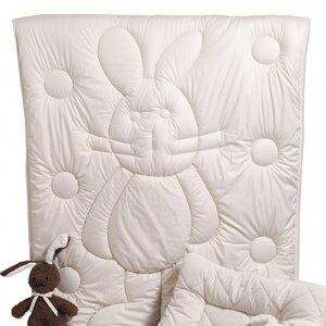 Schurwolldecke BOBO Vierjahreszeitendecke 100 x 135 cm ideal für Ihr Kind - Prolana