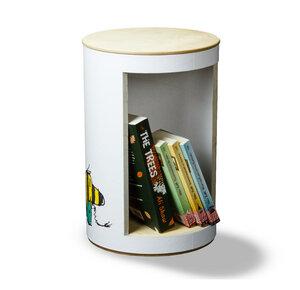 BücherHocker Janosch 'Freunde' - rund:Stil