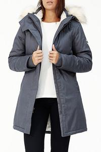 Ladies' Nordic Parka - Grey - Hoodlamb