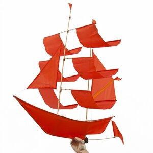 Flugdrachen Segelschiff - Sail Ship Kite - Haptic Lab