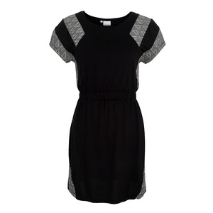 Mostra Dress schwarz gemustert - eisbörg