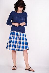 Margot Checked Skirt  - bibico