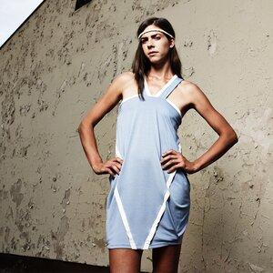 Kariba Dress milchblau - eisbörg