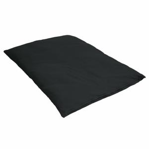 Lotus Design®  Sitzmatte ZABUTON ZEN schwarz  Grösse 70 x 90 cm - Lotus Design®
