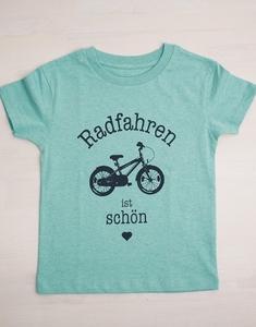 Radfahren ist schön - Fair Wear T-Shirt - Mint - päfjes