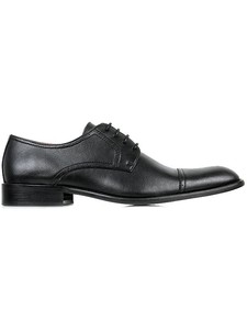 City Derbys Black (wide fit) - Wills Vegan Shoes