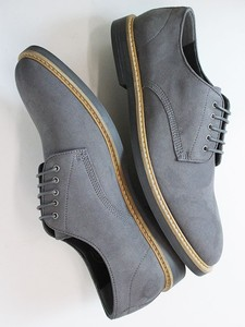 Signature Derbys Grey - Wills Vegan Shoes